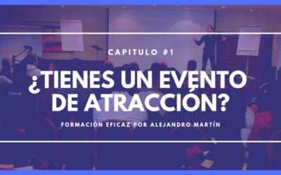 ¿Tienes un evento de atracción?